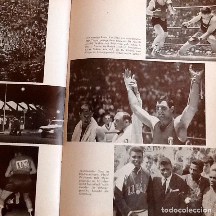 Coleccionismo deportivo: OLIMPIADA DE 1960. LIBRO EDITADO EN ALEMANIA .ENVIO CERTIFICADO.INCLUIDO EN EL PRECIO - Foto 3 - 95225727