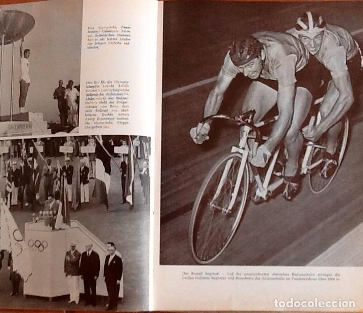 Coleccionismo deportivo: OLIMPIADA DE 1960. LIBRO EDITADO EN ALEMANIA .ENVIO CERTIFICADO.INCLUIDO EN EL PRECIO - Foto 4 - 95225727