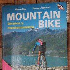 Coleccionismo deportivo: MOUNTAIN BIKE, TECNICA Y MANTENIMIENTO, MARCO REY, GIORGIO SCHMITZ, TUTOR 1993. Lote 95307935