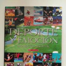 Coleccionismo deportivo: DEPORTE Y EMOCION MOMENTOS MÁGICOS - BANCO DE VALENCIA. Lote 96982267