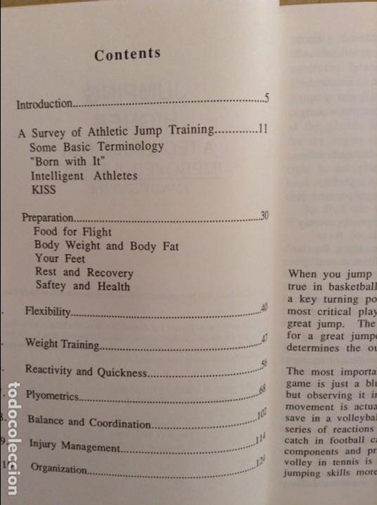 Coleccionismo deportivo: JUMPING HIGHER. A TECHNIQUE FOR IMPROVED JUMPING - RANDY SMYTHE - - Foto 3 - 97186771