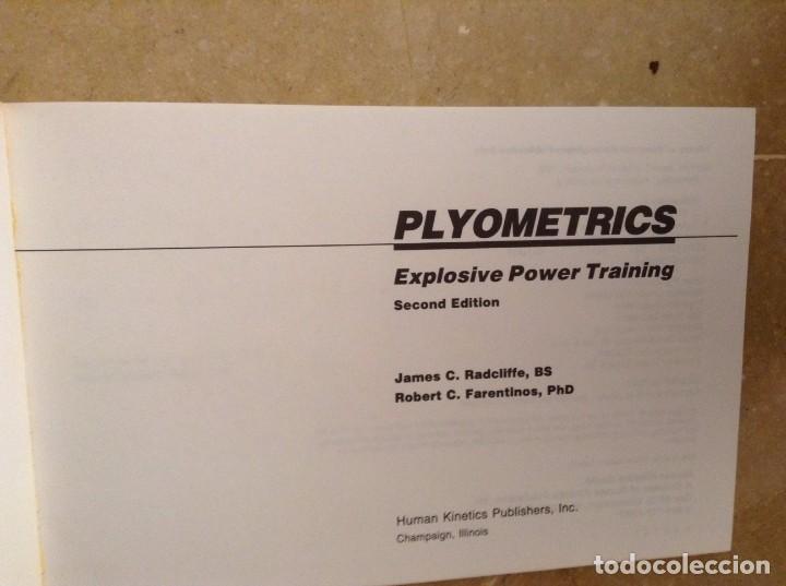 Coleccionismo deportivo: PYLOMETRICS. EXPLOSIVE POWER TRAINING - RADCLIFFE, FARENTINOS - - Foto 3 - 97187131