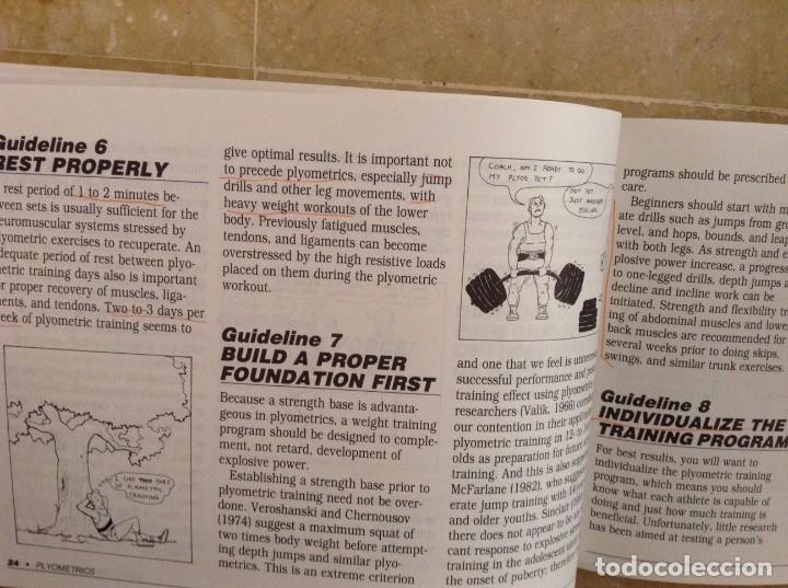 Coleccionismo deportivo: PYLOMETRICS. EXPLOSIVE POWER TRAINING - RADCLIFFE, FARENTINOS - - Foto 7 - 97187131
