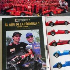 Coleccionismo deportivo: EL AÑO DE LA FÓRMULA 1 1999 2000 - LIBRO F1 DEPORTE COCHES GR PREMIOS HISTORIA FOTOS PILOTOS FERRARI. Lote 97249627