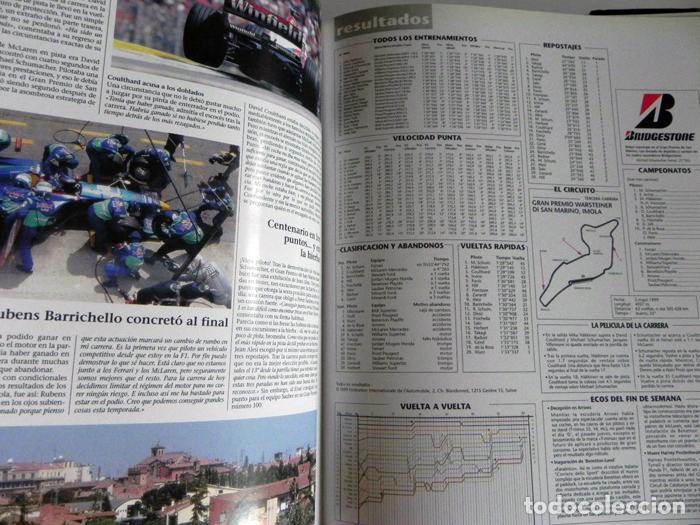 Coleccionismo deportivo: EL AÑO DE LA FÓRMULA 1 1999 2000 - LIBRO F1 DEPORTE COCHES GR PREMIOS HISTORIA FOTOS PILOTOS FERRARI - Foto 6 - 97249627