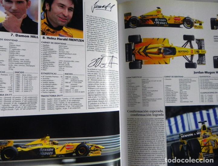 Coleccionismo deportivo: EL AÑO DE LA FÓRMULA 1 1999 2000 - LIBRO F1 DEPORTE COCHES GR PREMIOS HISTORIA FOTOS PILOTOS FERRARI - Foto 9 - 97249627
