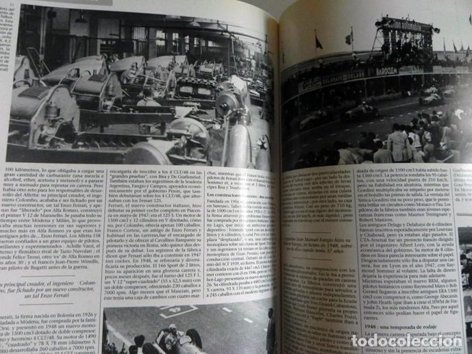 Coleccionismo deportivo: EL AÑO DE LA FÓRMULA 1 1999 2000 - LIBRO F1 DEPORTE COCHES GR PREMIOS HISTORIA FOTOS PILOTOS FERRARI - Foto 10 - 97249627