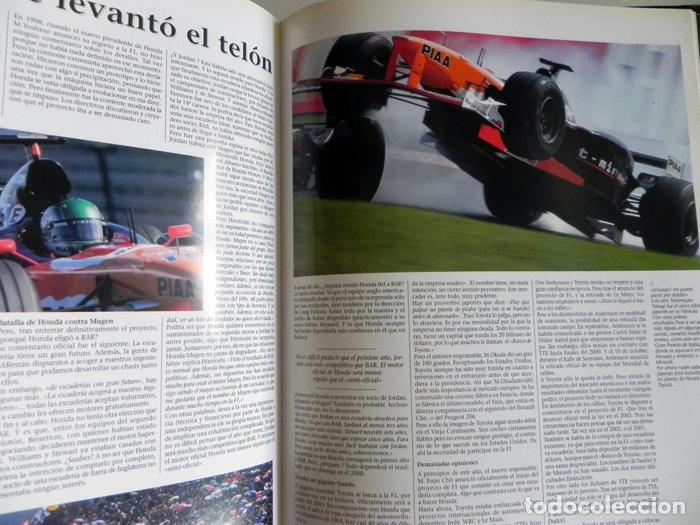 Coleccionismo deportivo: EL AÑO DE LA FÓRMULA 1 1999 2000 - LIBRO F1 DEPORTE COCHES GR PREMIOS HISTORIA FOTOS PILOTOS FERRARI - Foto 11 - 97249627