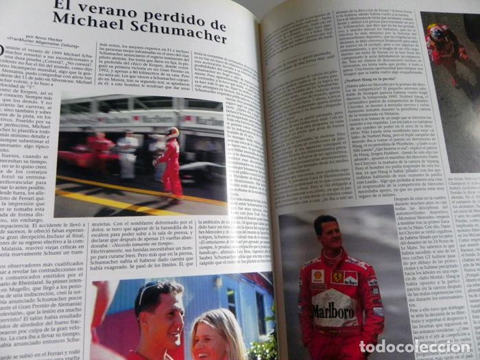Coleccionismo deportivo: EL AÑO DE LA FÓRMULA 1 1999 2000 - LIBRO F1 DEPORTE COCHES GR PREMIOS HISTORIA FOTOS PILOTOS FERRARI - Foto 12 - 97249627