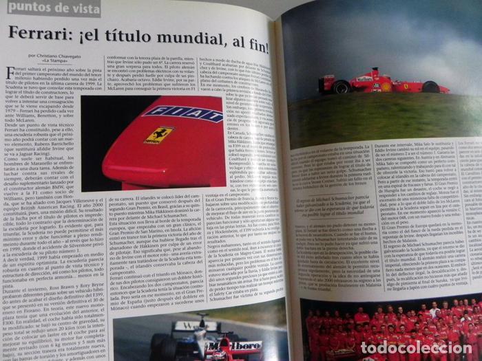 Coleccionismo deportivo: EL AÑO DE LA FÓRMULA 1 1999 2000 - LIBRO F1 DEPORTE COCHES GR PREMIOS HISTORIA FOTOS PILOTOS FERRARI - Foto 13 - 97249627