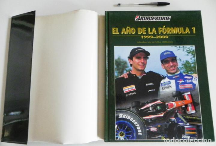 Coleccionismo deportivo: EL AÑO DE LA FÓRMULA 1 1999 2000 - LIBRO F1 DEPORTE COCHES GR PREMIOS HISTORIA FOTOS PILOTOS FERRARI - Foto 15 - 97249627