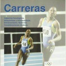 Coleccionismo deportivo: CARRERAS / ASPECTOS FISIOLÓGICOS, BIOQUÍMICOS, BIOMECÁNICOS ENTRENAMIENTO, NUTRICIÓN - J. A. HAWLEY. Lote 98579459