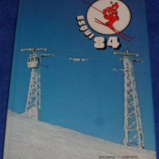 Coleccionismo deportivo: ESQUI 84 - SOUVIRON Y LAMPARTE . Lote 98695219