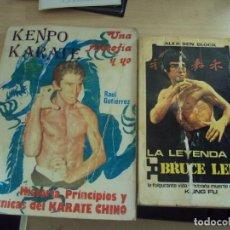 Coleccionismo deportivo: 2 LIBROS DE KARATE: LA LEYENDA DE BRUCE LEE Y KEMPO Y KARARE. Lote 99272015