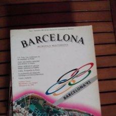 Coleccionismo deportivo: OLIMPIADA DE BARCELONA LIBRO REVISTA DEL EVENTO EN ESPAÑA 1992 - COMO NUEVO. Lote 99510695