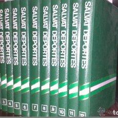 Coleccionismo deportivo: SALVAT DEPORTES - ENCICLOPEDIA DE 12 TOMOS . Lote 99801587