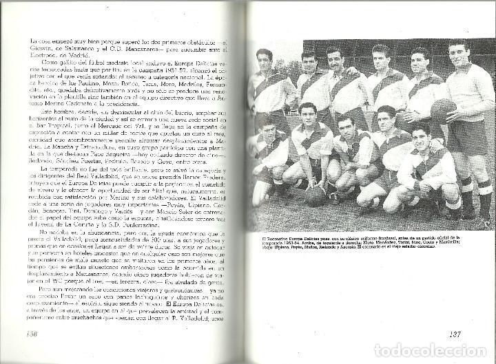 Coleccionismo deportivo: VALLADOLID, VIEJAS HISTORIAS DEPORTIVAS - 210 PAGINAS - 64 FOTOGRAFIAS - NUEVO - Foto 2 - 99828827