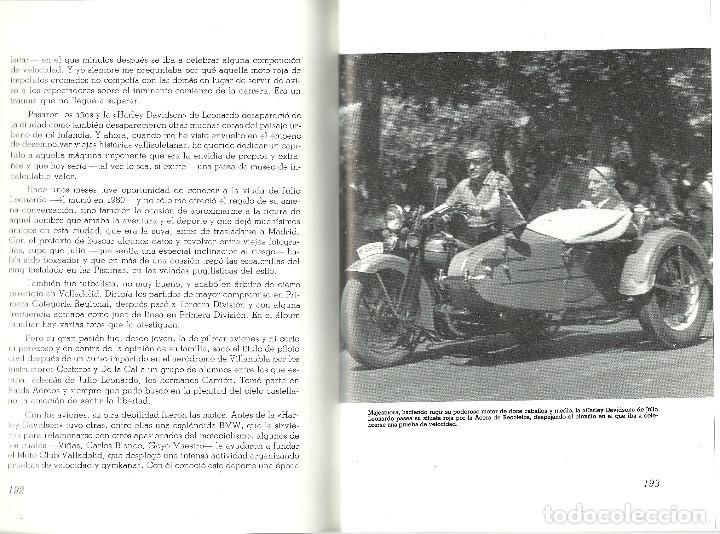 Coleccionismo deportivo: VALLADOLID, VIEJAS HISTORIAS DEPORTIVAS - 210 PAGINAS - 64 FOTOGRAFIAS - NUEVO - Foto 3 - 99828827