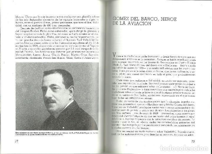 Coleccionismo deportivo: VALLADOLID, VIEJAS HISTORIAS DEPORTIVAS - 210 PAGINAS - 64 FOTOGRAFIAS - NUEVO - Foto 8 - 99828827