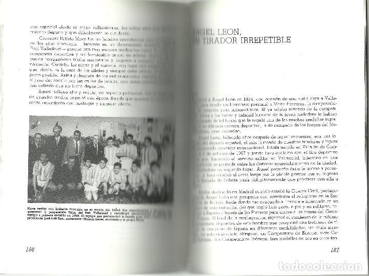 Coleccionismo deportivo: VALLADOLID, VIEJAS HISTORIAS DEPORTIVAS - 210 PAGINAS - 64 FOTOGRAFIAS - NUEVO - Foto 10 - 99828827
