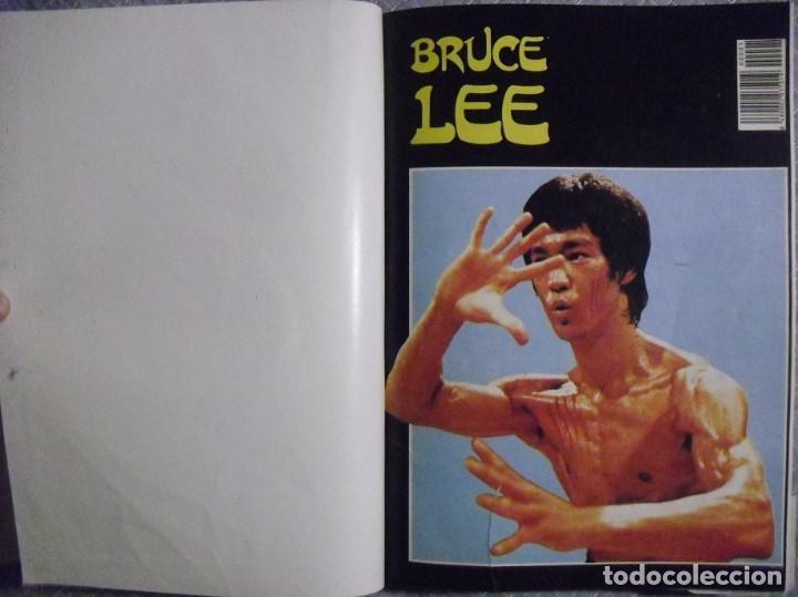 TOMO DE LA REVISTA ''BRUCE LEE'' (AÑOS 80) (Coleccionismo Deportivo - Libros de Deportes - Otros)