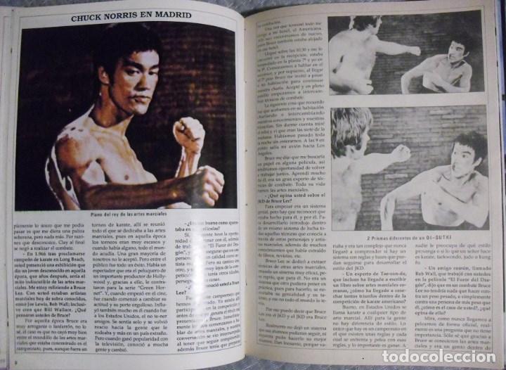 Coleccionismo deportivo: Tomo de la revista Bruce Lee (años 80) - Foto 5 - 99840787