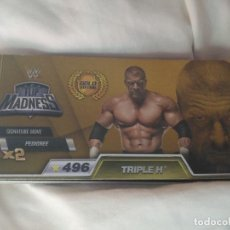 Coleccionismo deportivo: WWE FLIP MADNESS BOOKS - LIBRO ESCENAS EN MOVIMIENTO - LUCHADOR - LUCHA LIBRE - 296 TRIPLE H. Lote 100235679