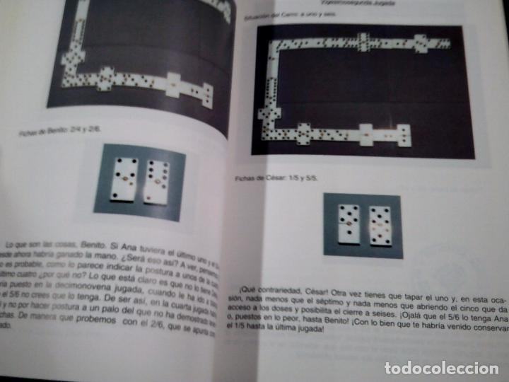 Coleccionismo deportivo: UNA PARTIDA DE DOMINO. - ANTONIO PERAN ELVIRA. TDK319 - Foto 2 - 100713275