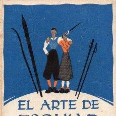 Coleccionismo deportivo: RIEMKASTEN / LEUTELT : EL ARTE DE ESQUIAR ADMINISTRADO CON BUEN HUMOR (SAGITARIO, 1947). Lote 101181499