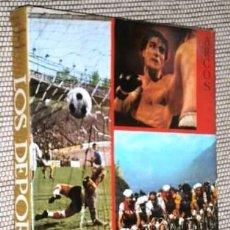 Coleccionismo deportivo: LOS DEPORTES POR VARIOS AUTORES DE ED. ARGOS EN BARCELONA 1967 PRIMERA EDICIÓN. Lote 102532763