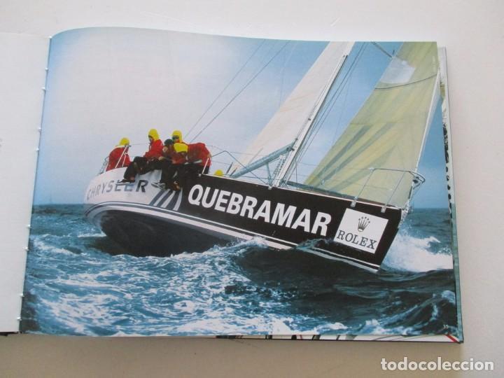 Coleccionismo deportivo: VV.AA. Quebramar. Seis anos a comunicar no mar. Six years communicating at sea. RM84315. - Foto 3 - 102666255