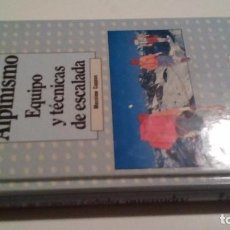 Coleccionismo deportivo: ALPINISMO EQUIPO Y TECNICAS DE ESCALADA-CAPPON, MASSIMO-EDICIONES GENERALES AMAYA-1986. Lote 103810111