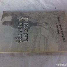 Coleccionismo deportivo: MAS ALLÁ DE LAS RALLAS-HOMENAJE A ERNESTO NAVARRO CASTAN-PRIMERA EDICION 1995. Lote 103810239