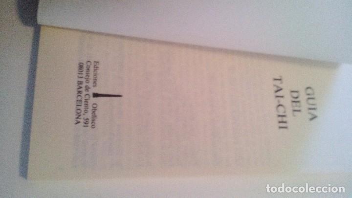 Coleccionismo deportivo: GUIA PRACTICA DEL TAI-CHI-Textos de Salvador Lluch. Eds. Obelisco, 1987-ARTES MARCIALES - Foto 3 - 104096155