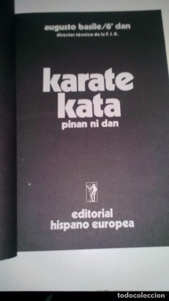 Coleccionismo deportivo: KARATE KATA 1-Pinan Go Dan-ARTES MARCIALES - Foto 3 - 104102447