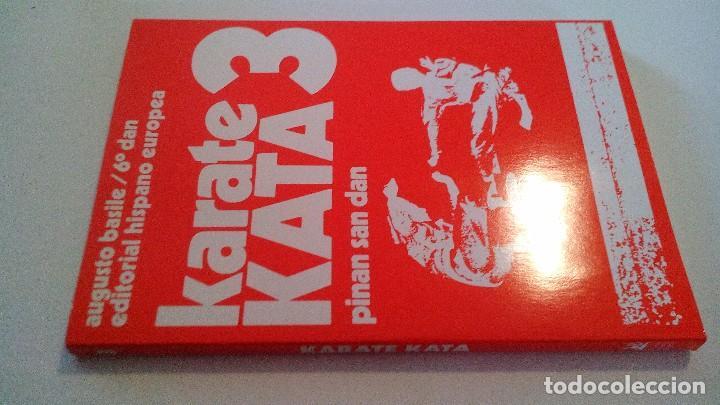 KARATE KATA 3-PINAN GO DAN-ARTES MARCIALES (Coleccionismo Deportivo - Libros de Deportes - Otros)
