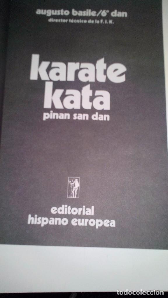 Coleccionismo deportivo: KARATE KATA 3-Pinan Go Dan-ARTES MARCIALES - Foto 3 - 104102475