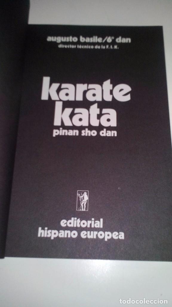 Coleccionismo deportivo: KARATE KATA 2-Pinan Go Dan-ARTES MARCIALES - Foto 3 - 104102503