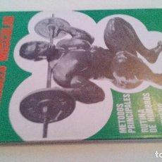 Coleccionismo deportivo: EJERCICIOS DE DESARROLLO MUSCULAR-CULTURISMO-ARTICULOS SELECCIONADOS REVISTA LAS PESAS 1983 . Lote 104160483
