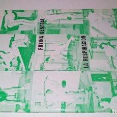 Coleccionismo deportivo: LAS PESAS EN EL DEPORTE-RUTINA GENERAL-LA RESPIRACIÓN-LA FATIGA-EDITORIAL ALAS 1989. Lote 104186707
