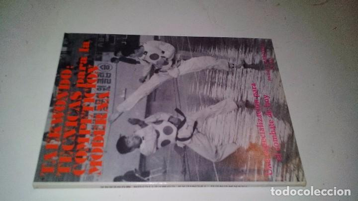 TAEKWONDO-TÉCNICAS PARA LA COMPETICIÓN MODERNA-ANDRÉS CARBONELL-ALAS 1985-ARTES MARCIALES (Coleccionismo Deportivo - Libros de Deportes - Otros)