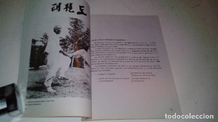 Coleccionismo deportivo: TAEKWONDO-TÉCNICAS PARA LA COMPETICIÓN MODERNA-ANDRÉS CARBONELL-ALAS 1985-ARTES MARCIALES - Foto 6 - 104322591