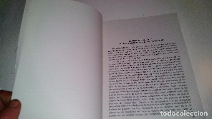 Coleccionismo deportivo: INTRODUCCIÓN AL PENCAK SILAT-Juan I. Berrenechea -Pendekar Suci-editorial ALAS 1986-ARTES MARCIALES - Foto 5 - 192359658