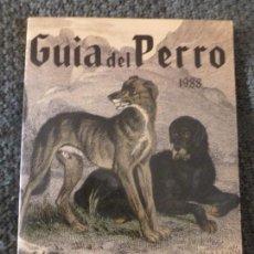 Coleccionismo deportivo: GUIA DEL PERRO. 1988 GRUPO CINOFILIA 158PP. Lote 105268951