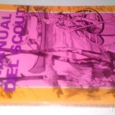 Coleccionismo deportivo: MANUAL DEL SCOUT-CESAR MACAZAGA ORDOÑO-EDITORIAL INNOVACION-1982-SUPERVIVENCIA-MONTAÑISMO. Lote 105588927