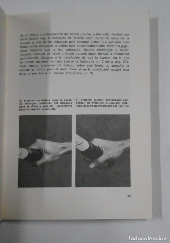 Coleccionismo deportivo: EL TENIS EN 13 LECCIONES. - GARDINI, FAUSTO. EDITORIAL DE VECCHI. TDK329 - Foto 2 - 106003307