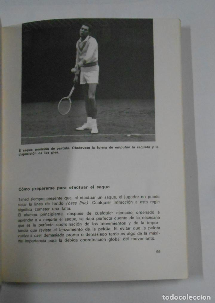 Coleccionismo deportivo: EL TENIS EN 13 LECCIONES. - GARDINI, FAUSTO. EDITORIAL DE VECCHI. TDK329 - Foto 3 - 106003307