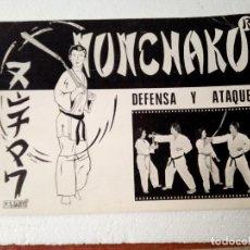 Coleccionismo deportivo: -LIBRO NUNCHAKU -DEFENSA Y ATAQUE-1980-DAIMYO-. Lote 107195019