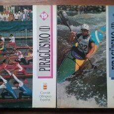 Coleccionismo deportivo: PIRAGÜISMO, COMITE OLIMPICO ESPAÑOL, FEDERACION ESPAÑOLA DE PIRAGÜISMO, 1993. Lote 107505480