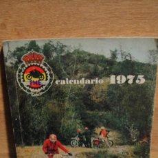 Coleccionismo deportivo: REAL FEDERACION MOTOCICLISTA ESPAÑOLA - CALENDARIO DEPORTIVO 1975. Lote 110053371